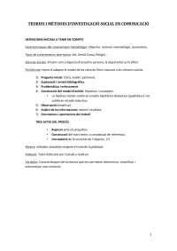 Apunts teories i mètodes de investigació social
