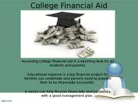 Financial Aid for the Middle Class - College Kickstart