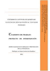 Cuaderno de trabajo elaboraciÓn de proyectos 2014 edgg