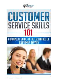 Ebook customer service skills 101