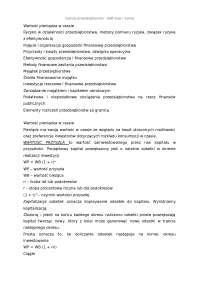 Finanse przedsiebiorstw definicje i wzory [33 strony]