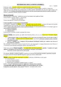 Metodologia della scienza giuridica - PARTE I