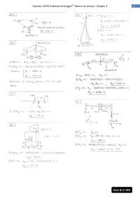 Solution statics meriam 6th chapter03 for print