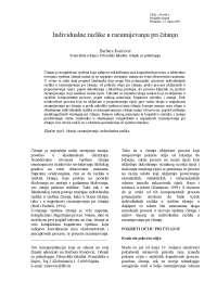 Psihologija čitanja, Skripte' predlog Psihologija odgoja i obrazovanja