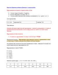 Esercizio Virgola Mobile - Calcolatori Elettronici Uniroma3