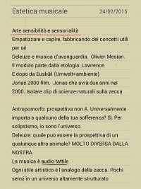 Riassunti dal corso Estetica musicale