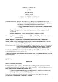 Riassunto Manuale diritto commerciale, Ferri