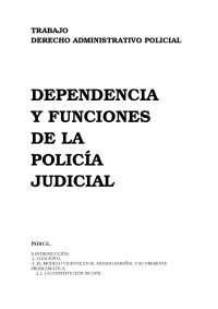 Trabajo Administrativo Policial PJ