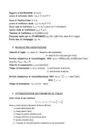 Formulario Sistemi di produzione 2