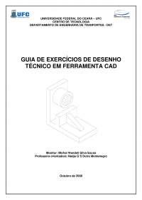 Guia de exercicios cad