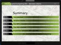Unit 7 decision criteria