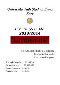 business plan ristorante
