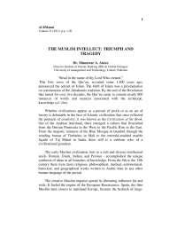 24 iqbal lec the muslim intellecttriumph and tragedy