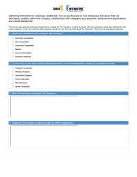 Employee satisfaction survey detailed version