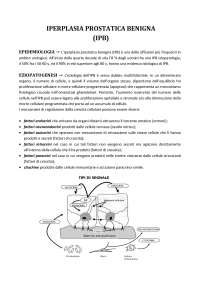 Iperplasia prostatica benigna