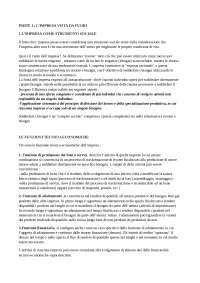 Riassunti dell'Economia e Gestione delle Imprese - Rocco Moliterni