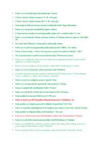 Odgovori iz istorije (Zbirka zadataka za prijemni na Pravni)