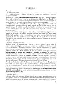L'induismo di Giorgio R. Franci - Riassunto