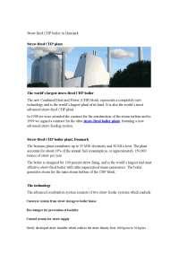 Straw fired cfp boiler in denmark