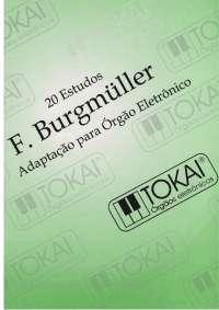 Burgmuller 20 estudos adaptado para órgão