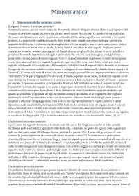 Minisemantica - Tullio de Mauro