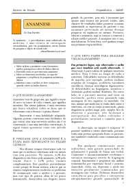 Roteiro de Anamnese (Dr. Ivan Paredes)