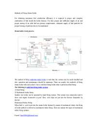 Methods of firing steam boiler