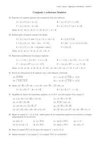 conjunto y relaciones binarias