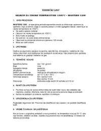 Tehnicki list masters 1200