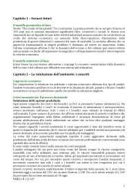 Appunti Economia dell'ambiente