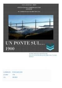 UN PONTE SUL 1900