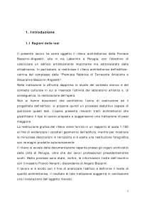 Rilievo architettonico della Fornace Biscarini–Angeletti