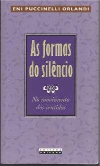 As formas do silêncio - Eni Orlandi, Notas de aula de Literatura