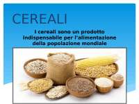Slide Cereali