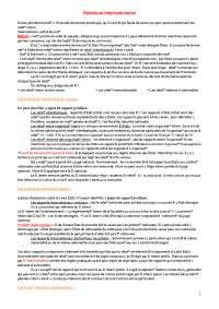 Relations internationales - Université de Strasbourg, Notes de Relations internationales