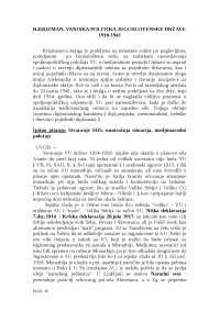 Vanjska politika jugoslovenske drzave 1918-1941
