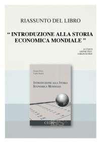 Introduzione Alla Storia Economica Mondiale - Gaspar Feliu, Carles Sudrià