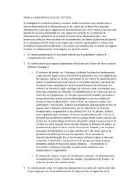 tema 8  administracion de control