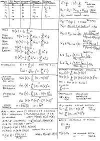 Formulario Statistica Guagnano