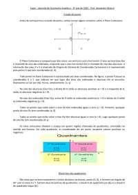 Apostila de geometria analítica.