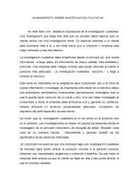 (UPV-EHU) fuentes de informacion ->UN MANIFIESTO SOBRE INVESTIGACION CULITATIVA