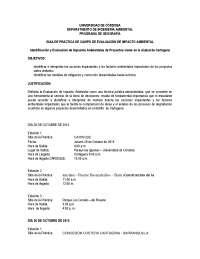 GuÍa de practica evaluacion de impacto identificación y evaluación de impactos ambientales de proyectos viales en la ciudad de cartagena 2015 1