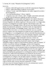 Riassunto di G.Berruto, M.Cerruti - Manuale di Sociolinguistica, 2015