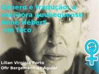Gênero e tradução: Anne Hébert em foco