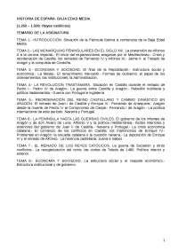 Apuntes Baja Edad Media de España