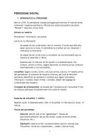 Resum Tema 1 i 2. Introducció al periodisme, ètica i moral i gèneres
