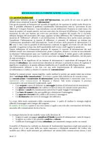 Sociologia della comunicazione l. paccagnella 1 1