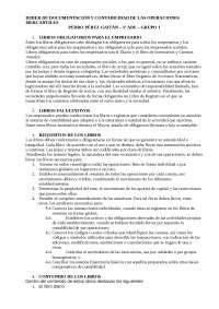 deberes de documentación