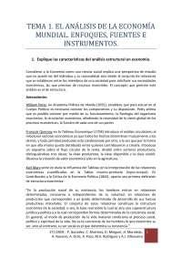 Apuntes Estructura Económica Mundial