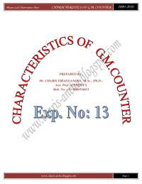 32220080 characteristics of g m counter by mr charis